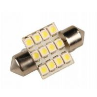 Sufitka bílá - Super Light, 12 SMD LED, 36mm